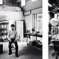 Sculptor Professor in His Studio II & Cloud Chamber
